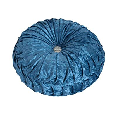 Fghuim Seat Cushion Round Wall Cushion Chair Cushions Suitable for Dining Living Room Patio Garden Office Coffee Shop: Home & Kitchen
