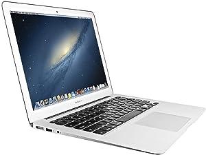 Apple MacBook Air MD760LL/B 13.3in Laptop, Intel Core i7-4650U 1.7GHz, 8GB RAM, 256GB SSD - Silver (Renewed)