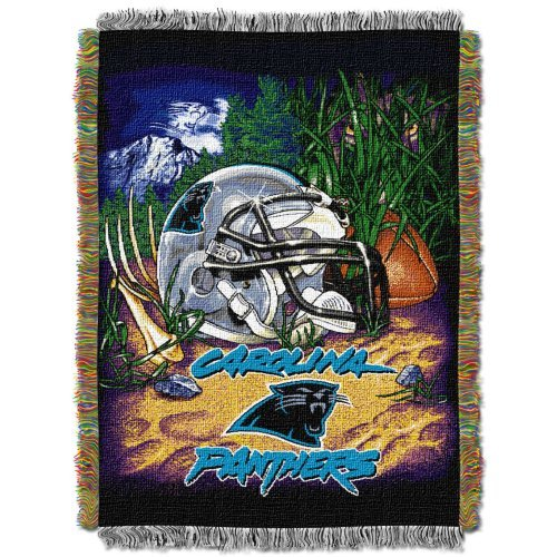 Northwest 051 Home Field Advantage NFL Carolina Panthers Acrylic Tapestry Throw Blanket