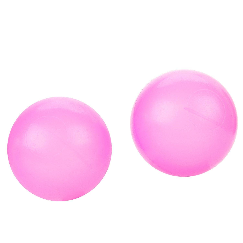 merssavoカラフルなソフトプラスチックOcean Fun BallボールベビーキッズおもちゃSwim Pit Toy、ランダム色インチ5.5 CM、50個   B07CHZ2CBM