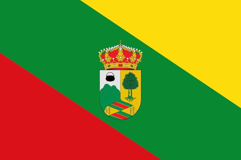 magFlags Bandera Large W es Hoyo de Manzanares, Madrid España | Bandera Paisaje | 1.35m² | 90x150cm: Amazon.es: Jardín