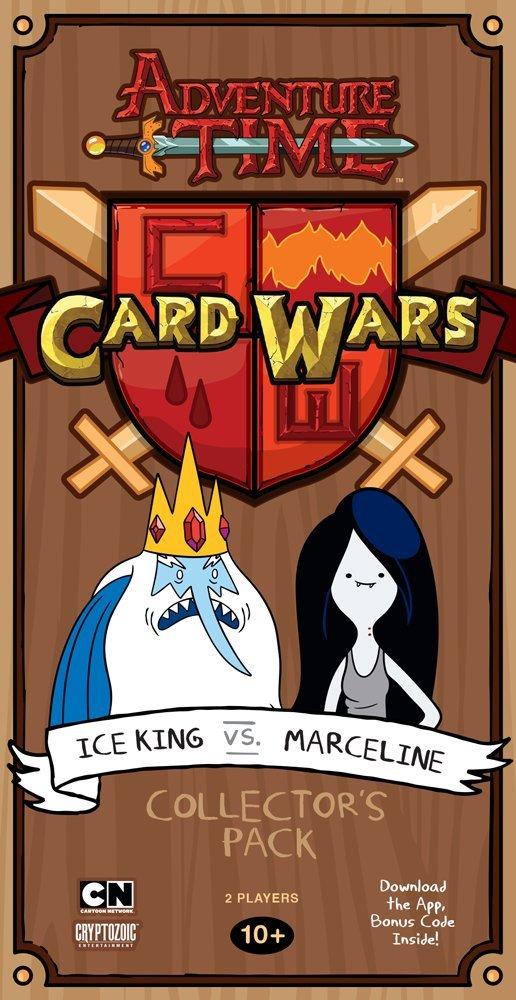 Adventure Time Juego de cartas Card Wars Ice King vs Marceline *Edición Inglés*: Amazon.es: Juguetes y juegos