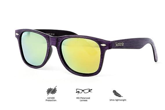 1119267842 Catania Occhiali Polarised Sunglasses in Case - Unisex Sunglasses from Signature  Collection - Polarized Lenses -