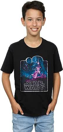 Star Wars niños Movie Montage Camiseta