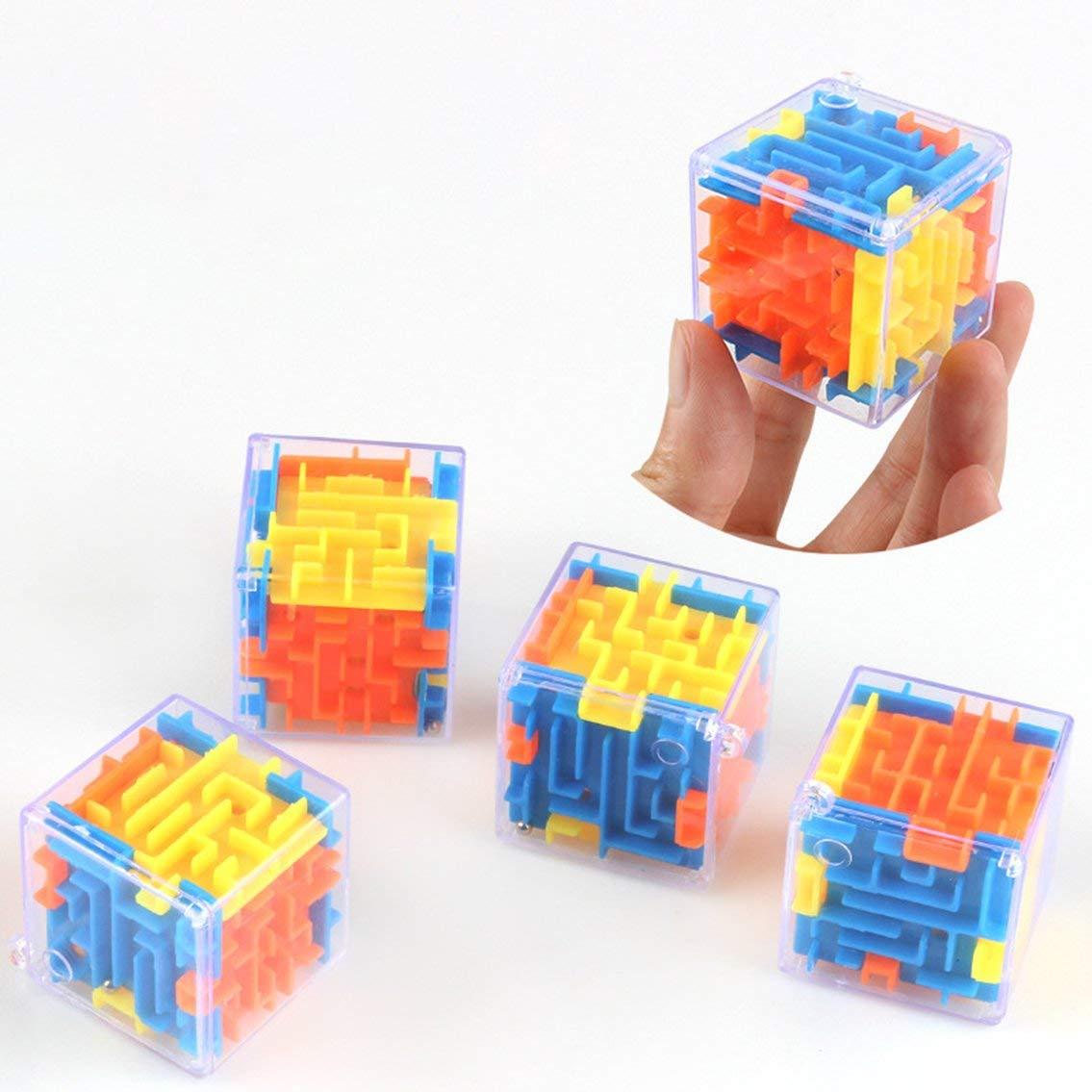 Panamami Laberinto Tridimensional peque/ño Magic Maze Universal 3D Baby Intelligence Toy Juguetes educativos Regalos port/átiles para ni/ños//Crom/ático