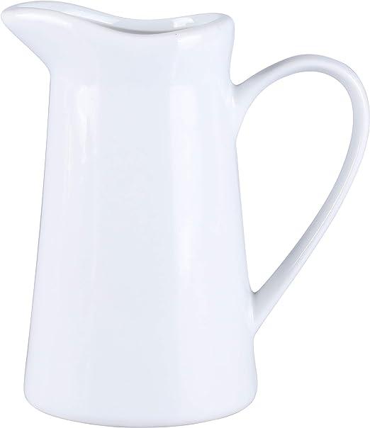 Amazon.com: HengTianCheng jarra cremosa con asa, jarra de ...