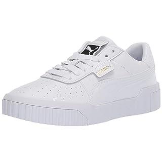 PUMA Women's CALI Sneaker White, 10.5 M US