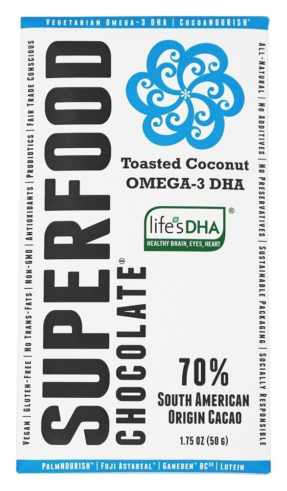 Good Superfood Toasted Coconut Omega-3 Chocolate