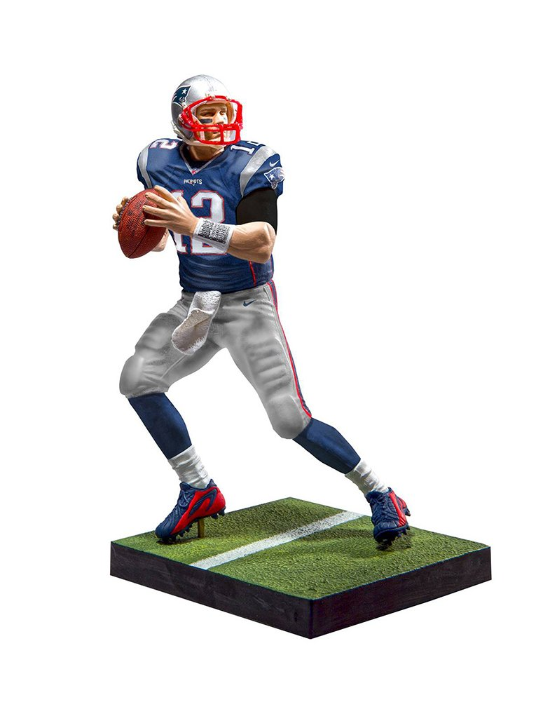 New England Patriots, Tom Brady EA Sports Madden NFL 17 Ultimate Team Figure: White Jersey Variant McFarlane Toys