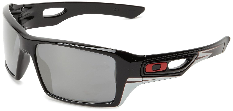 da6783902 Amazon.com: Oakley Eyepatch 2 OO9136-15 Iridium Rectangular  Sunglasses,Polished Black,64 mm: Clothing