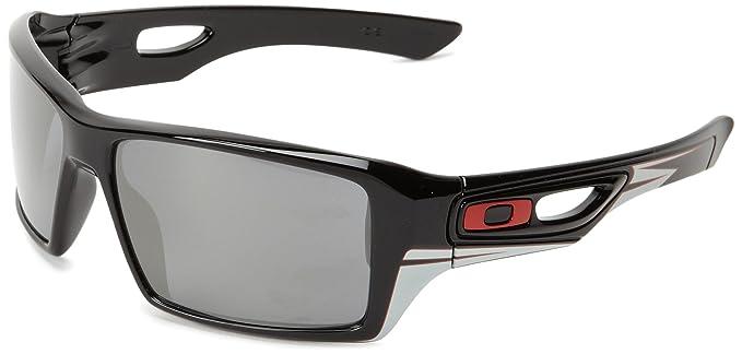 Oakley Gafas de sol Para Hombre Eyepatch 2 OO9136 - 913615: Negro brillante (Troy