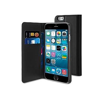 48d2a95b727 Muvit MUSNS0080 - Funda Slim Folio iPhone 6 Negro: Muvit: Amazon.es:  Electrónica