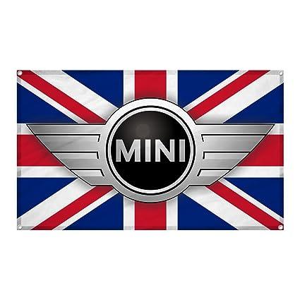 Amazon Mini Cooper Auto Car Logo Wall Hanging Flag Banner 3x5