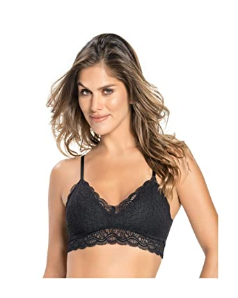 7a672a4e9 Leonisa Women s Support Wireless Sexy Push Up Bra at Amazon Women s  Clothing store