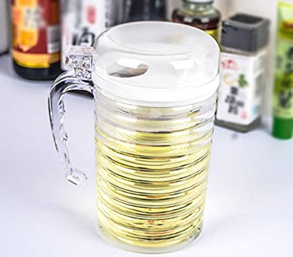 FJXLZ® Aceite transparente Puede salsa de soja Botella Botellas de vinagre Botella sellada Botella de