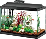 Aqueon Deluxe LED Aquarium Kit Black 29 Gallon