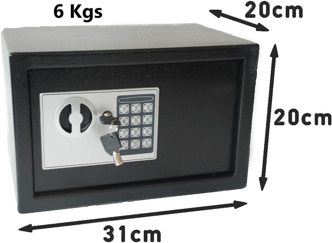 Digital Safe Box 6 Kg 13.2 Pounds with Anti-Bounce System