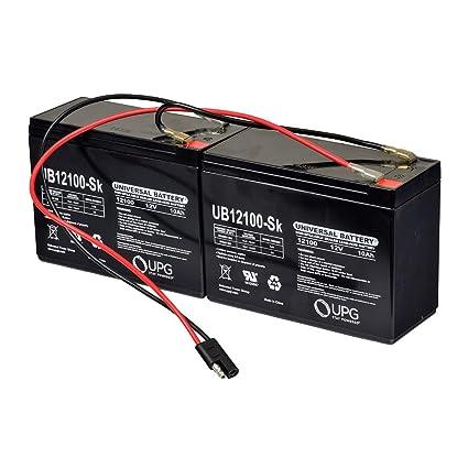 Amazon.com: AlveyTech - Batería para eZip, GT, IZIP ...