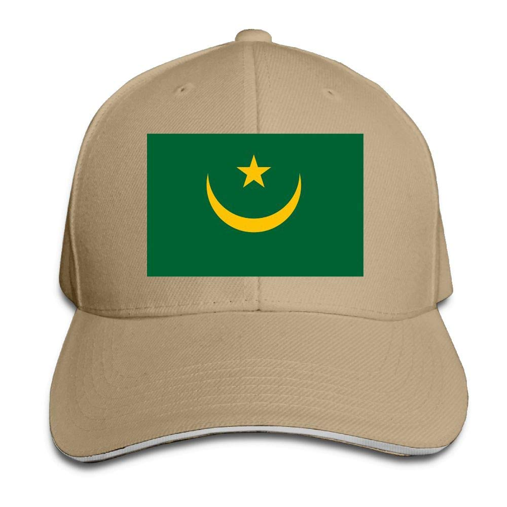 wuhgjkuo Mauritania Flags Dad Hat Trucker Hat Adjustable Baseball Cap