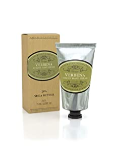 Naturally European VERBENA Luxury Hand Cream Boxed 20% Shea Butter 75ml