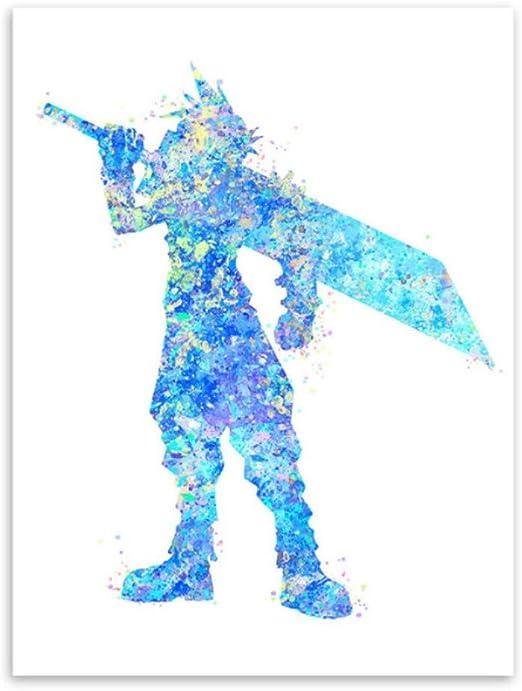 Peinture Au Diamant Aquarelle Final Fantasy Kids Diamant