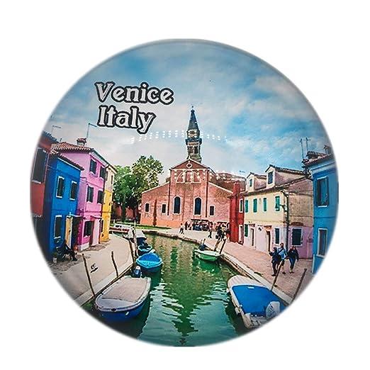 Weekino Souvenir Burano Isla de Color Venecia Venecia Italia Imán ...