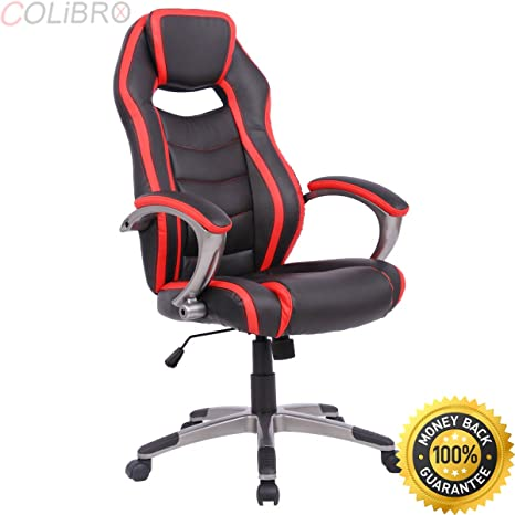 Magnificent Amazon Com Colibrox Racing Car Style High Back Office Chair Lamtechconsult Wood Chair Design Ideas Lamtechconsultcom