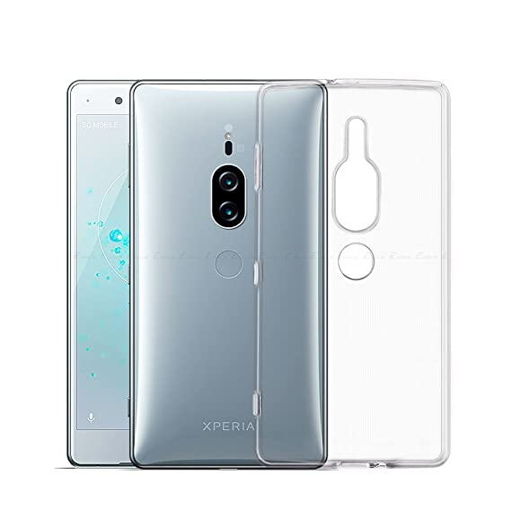 new product 8cfb4 a85ef for Sony Xperia XZ2 Premium Case - Clear Shockproof Silicone TPU Case Skin  Cover Anti-Drop Soft TPU Full Coverage Clear Transparent Soft Slim ...