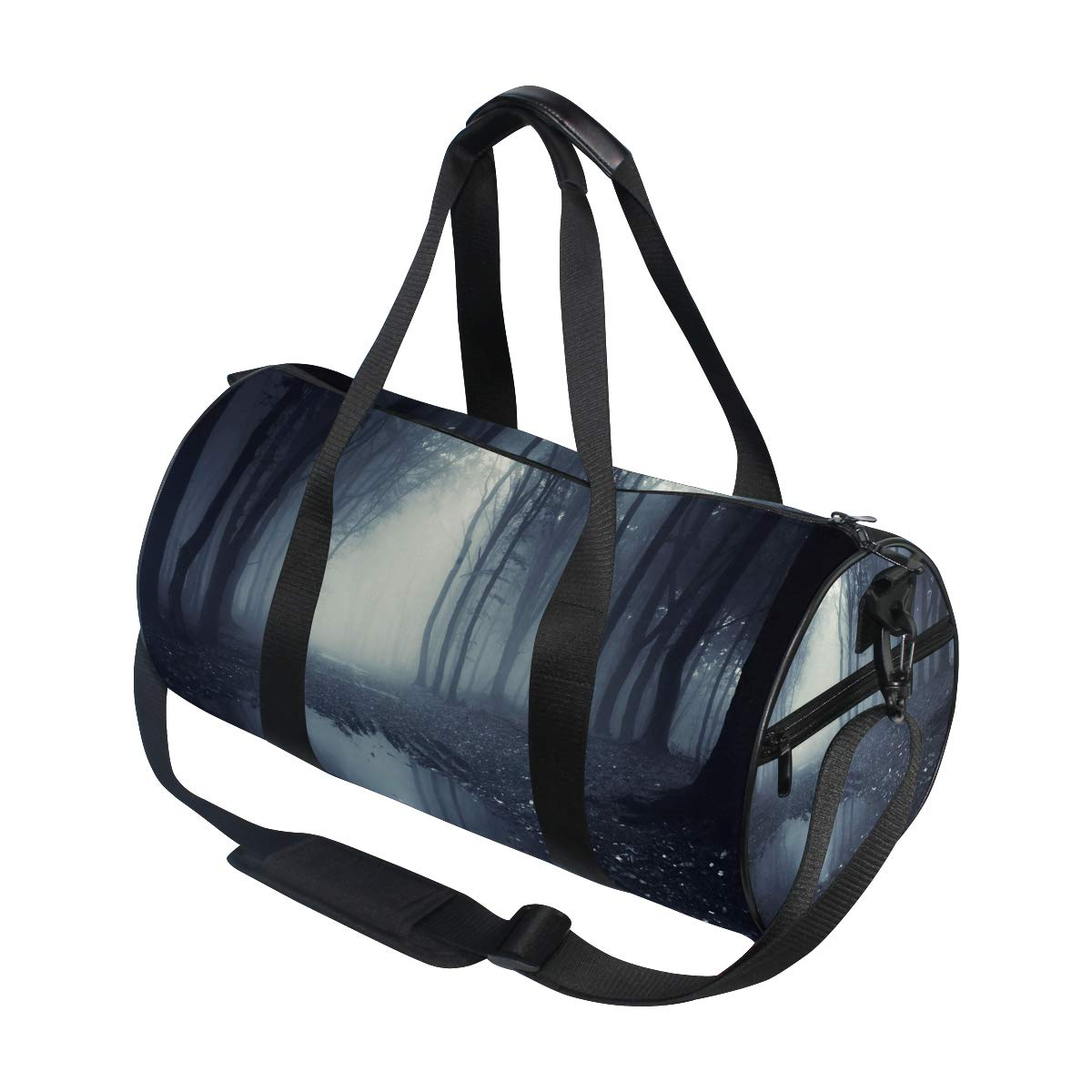 Sports Gym Bag Travel Duffel Bag with Pockets Luggage & Travel Gear Shoulder Strap Fitness Bag by EVERUI (Image #3)