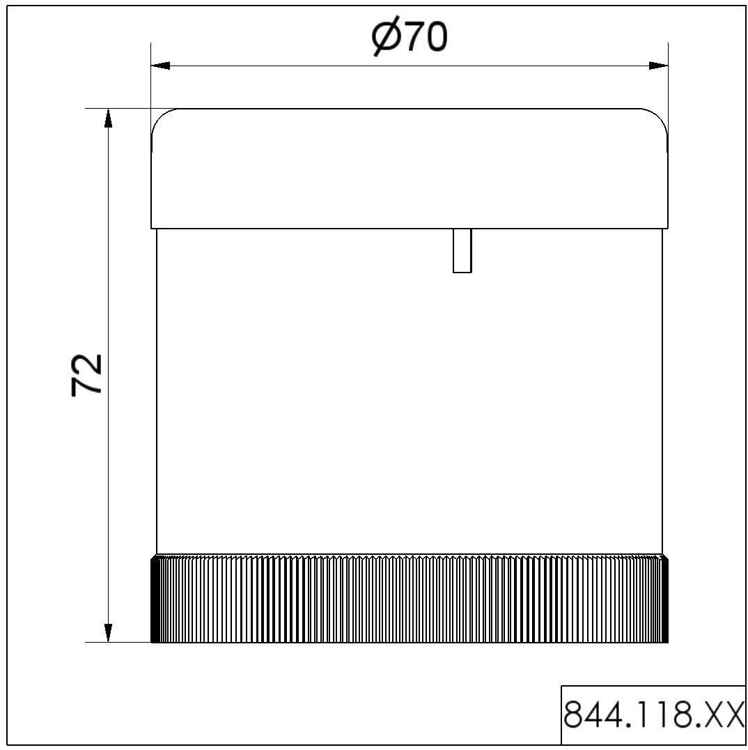WERMA Summerelement Dauer//Puls 24 V UC 844.118.55