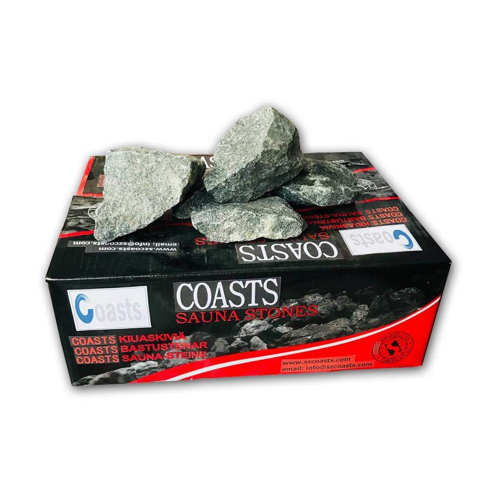 Coasts SSBAG Replacement Sauna Heater Rocks Stones 40 Pounds