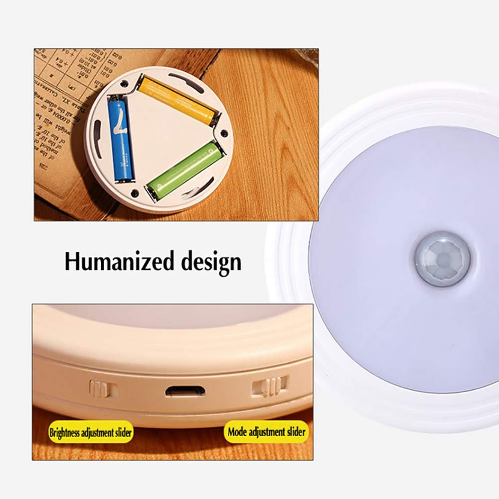 Amazon.com: ZNDDB Motion Sensor Night Lights Suitable for Wardrobe Cupboards Chargable LED Night Light,A: Sports & Outdoors