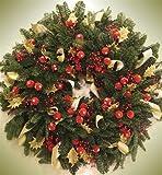 Christmas Holiday Wreath Custom Dishwasher Cover