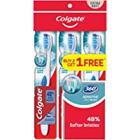 Colgate 360 Toothbrush, Sensitive Pro Relief, Extra Soft, 3ct