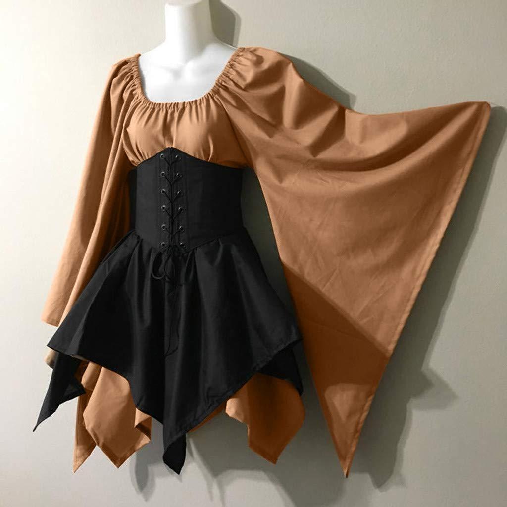 Vestidos De Fiesta Gótico Mujer Retro Medieval Cosplay Disfraces ...