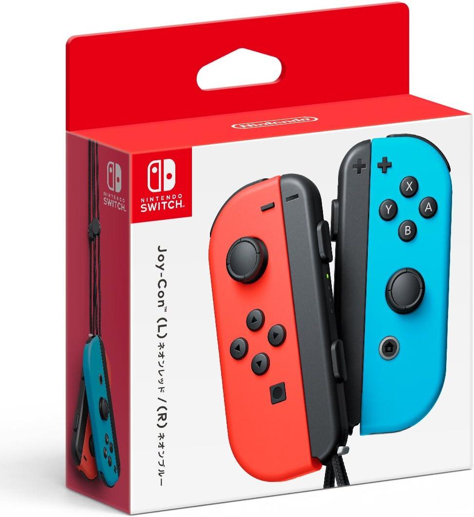 Nintendo Alegría-con (L) de neón Rojo / (R) de neón Azul: Amazon ...