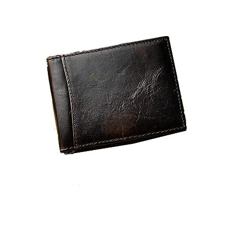 Carteras minimalistas para hombres Billetera de cuero para hombres Billetera de hombre Monedero para hombres Bolsa