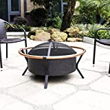 Crosley Yuma Copper Ring Firepit, Black Review
