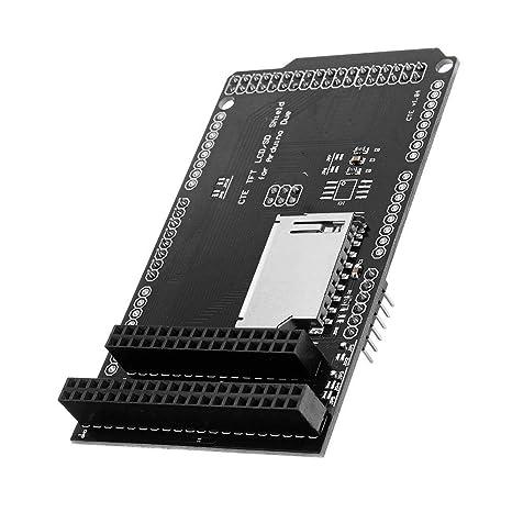 Lujianghuixin Azul TFT/SD Shield Tarjeta de expansión for ...