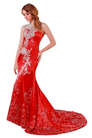Passat Prom Gowns With Capped Sleeves Size US2