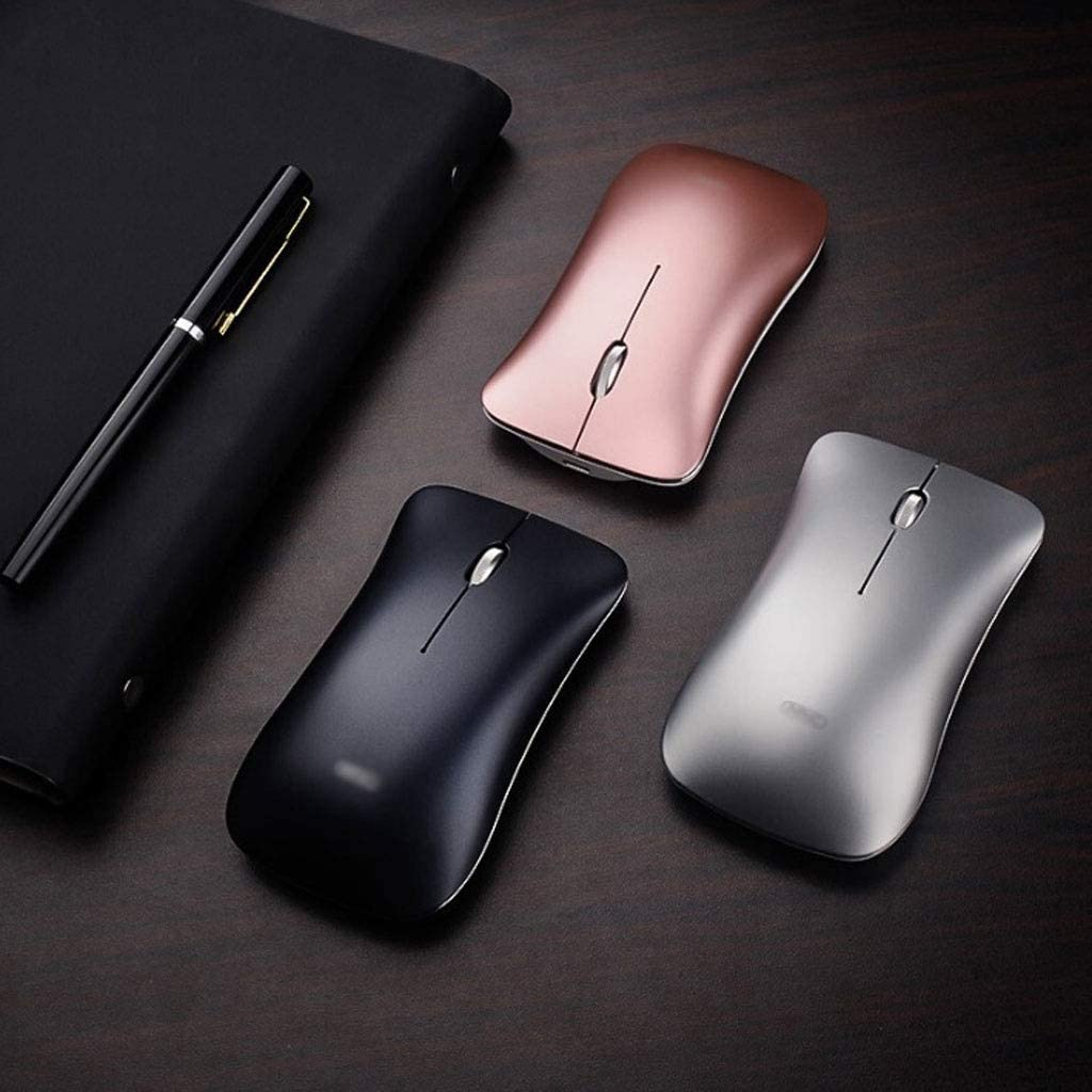 Color : C 3 Files DPI Adjustment Ultra-Thin Wireless USB Mouse Mute Silent 2.4GHZ Mouse with Computer Notebook Office Games