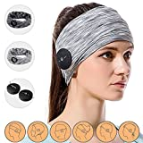 Compra Bluetooth Headphones with 2 Sports Headband for Women & Man, Keymao Sweatband for Sleeping, Workout, Yoga, Running, Exercise Accessories en Usame