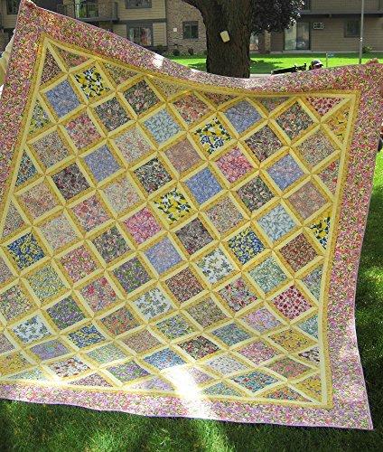 Quilt Hand Made Garden Lattice 89