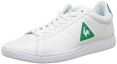 Le Coq Sportif Unisex-Kinder Courtone PS S Lea Trainer Low, Weiß (Optical White/Vintage), 33 EU
