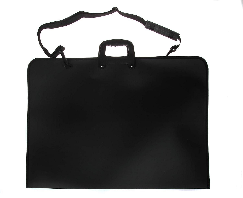 Artcare 15222310Valigetta per accademia in materiale sintetico, formato A2, colore: nero, 64x 3x 48cm Mapac