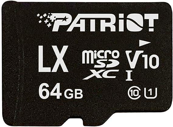 Patriot Memory PSF16GLX1MCH 16 GB LX V10 Tarjeta Micro SD SDHC por Fotocamere/Videocamere/Smartphone/Tablet: Amazon.es: Informática