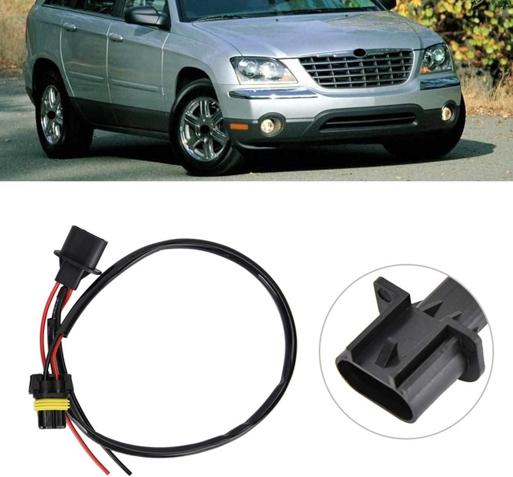 2pcs H13 9008 Sockets to 9006 Bulbs Headlight Conversion Adapter//Wire Aramox Converter Cable