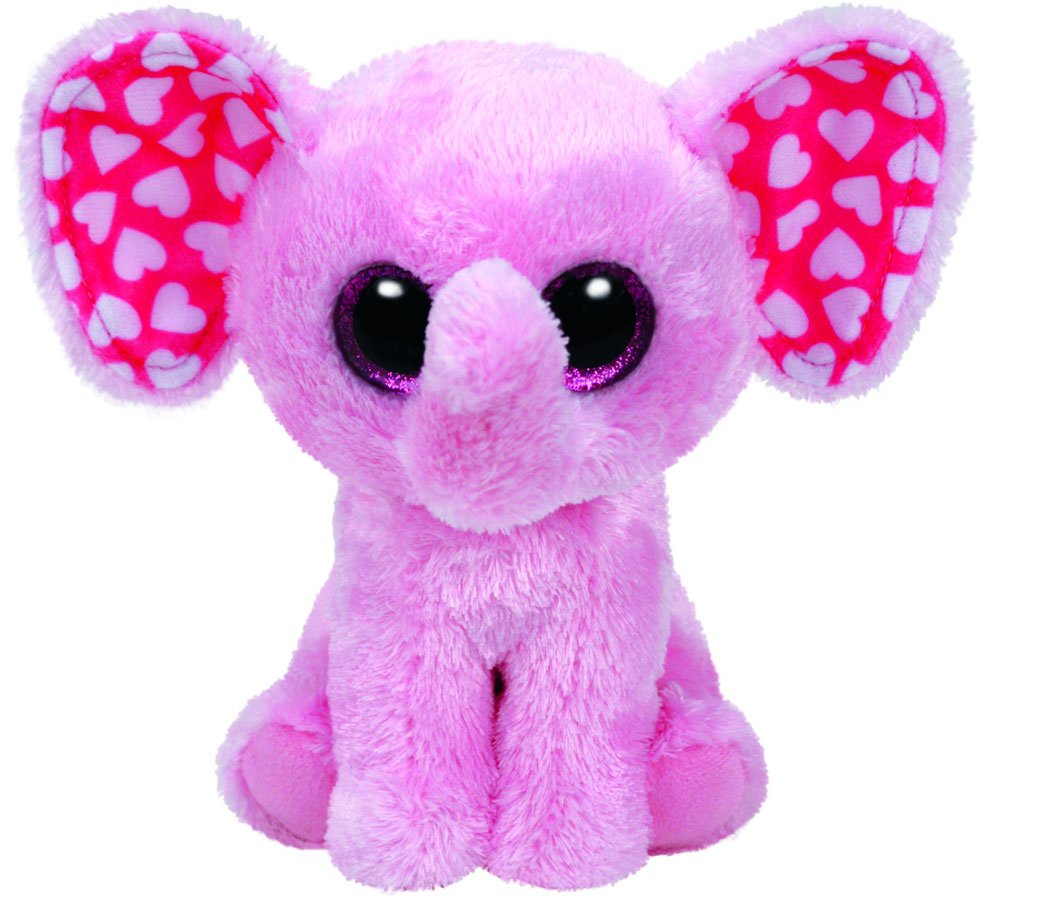 Carletto Ty 37209 - Sugar, elefante, 15 cm, color rosa: Amazon.es: Juguetes y juegos