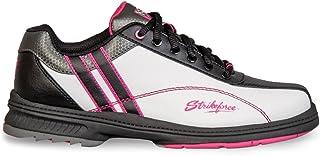 KR Strikeforce L-900-110 Starr Bowling Shoes, White/Black/Pink, Size 11