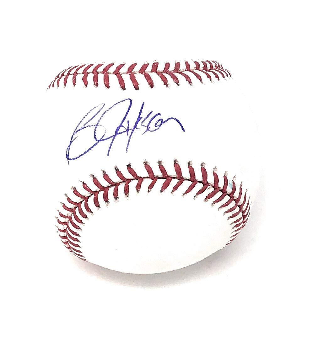 Bo Jackson Kansas City Royals Signed Autograph Official MLB Baseball Jackson GTSM Player Hologram Certified